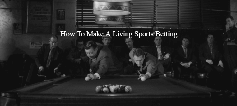 Make A Living Sports Betting, Feature Image