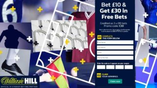 William Hill Sports Sign-Up Offer