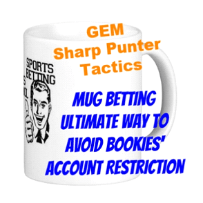 gubbed, mug betting