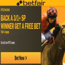 Betfair Back A Winner Get Free Bet