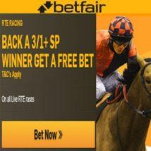 Betfair Back A Winner Get Free Bet