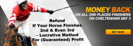 Refund If Horse Finishes 2nd & 3rd