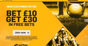 Betfair Sportsbook Signup Offer
