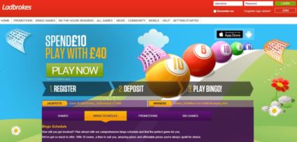 Ladbrokes Bingo Site