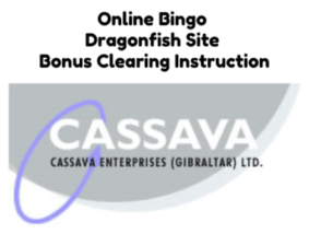 Dragonfish Online Bingo Bonus Extraction Method