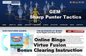 GEM Bingo Bonus Virtue Fusion Strategy