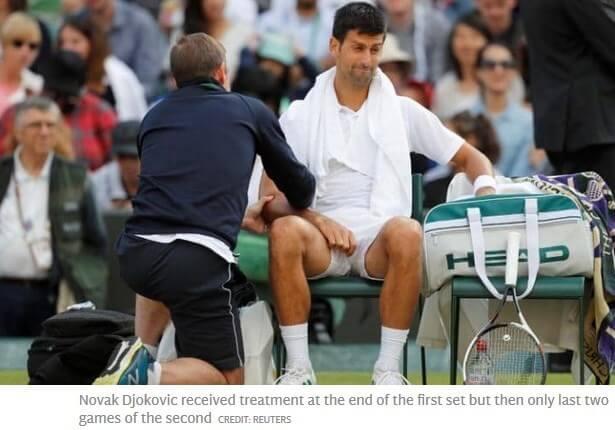 Dutching Betting Novak Djokovic Retirement Treatment