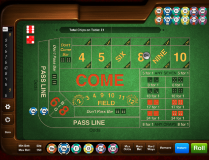 Craps Game Tactics