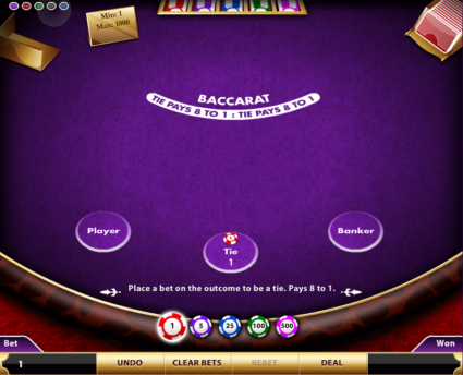 Baccarat Game Strategies