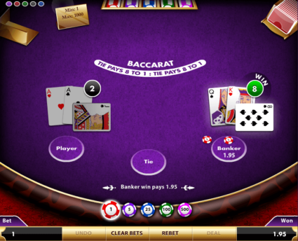 Baccarat Game Strategies