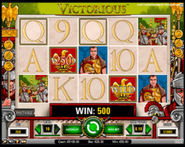 Victorious Slot Machine Image