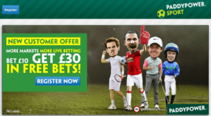 Paddy Power Sports Home Page