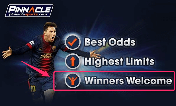 Best Online Bookies Pinnacle Welcome Professionals