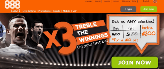 enhanced bets, 888sport enhanced odds treble