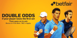 enhanced bets, double odds tennis example