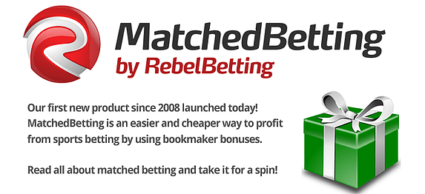 Rebelbetting Matched Betting