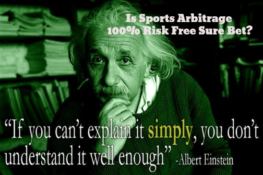 Surebet Sports Arbitrage 100% Risk Free As Extra Money Opportunity