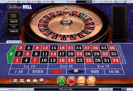 William Hill Roulette Double