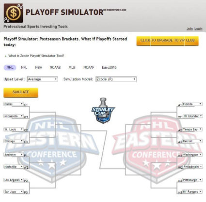 ZCode Playoff Simulator
