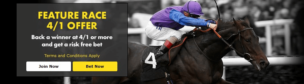 Bet365 Featyre 4/1 race