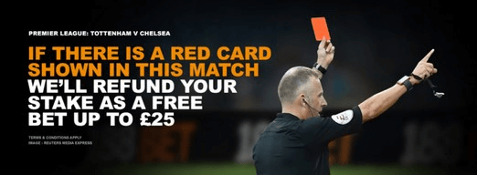 188Bet Red Card Refund Promotion