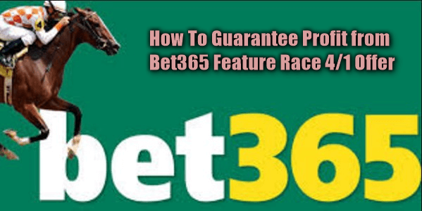 bet365 feature race 4/1 offer feature image