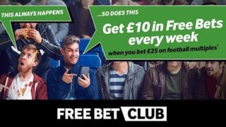 Betway Free Bets Club Every Week