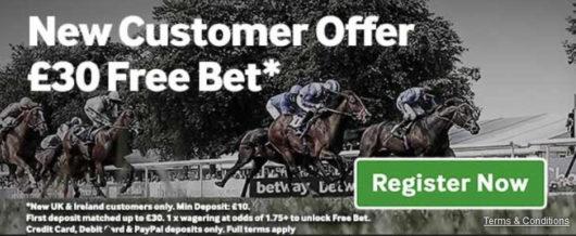 Betway Sign-Up Bonus