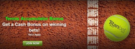 Titanbet Offers Tennis Accumulator Bonuses