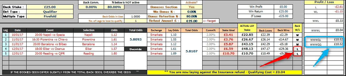 Coral ACCA Insurance Spreadsheet Calculation Final