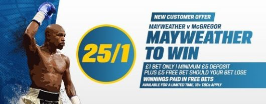 Coral New Customer Offer Mayweather