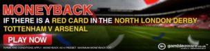 Red Card Refund TLC Bet