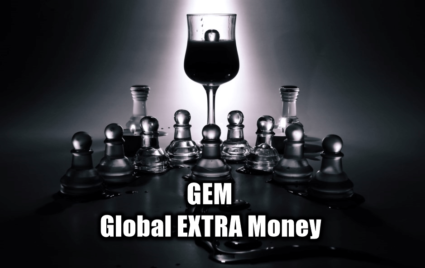 GEM Global Extra Money Logo Type Make Extra Money Smartly