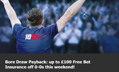 bet365 bore draw, 10bet promotion