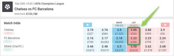 bet365 in play offer, matchbook odds