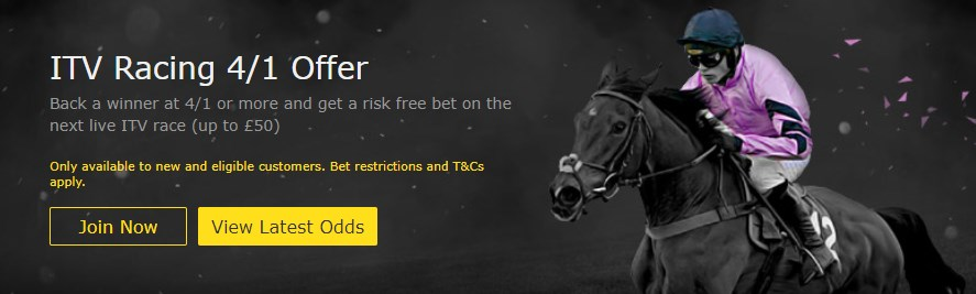 bet365 itv racing offer image