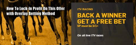 Back A Winner Lock-In Profit with Overlay Betting