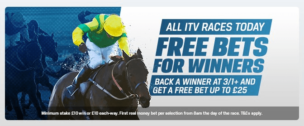 Back A Winner ITV Race Coral Advertising