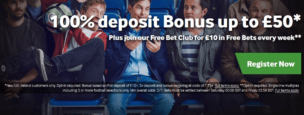 Betway Sign Up Bonus 50 x5 WR