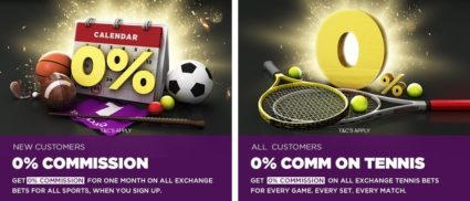 Betdaq Sign-Up & Tennis 0 Commission