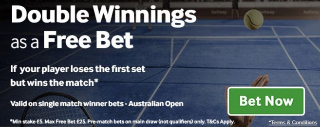 betway australian open offer