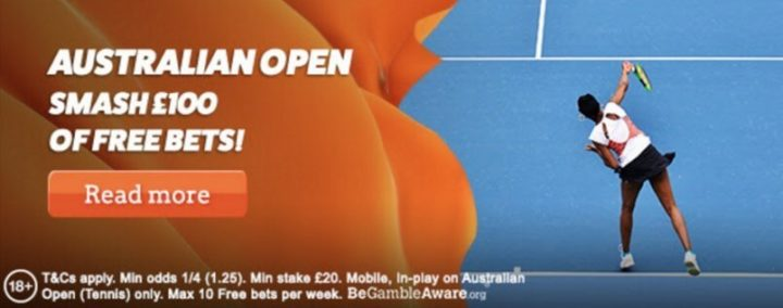 live betting tennis, leovegas australian open offer