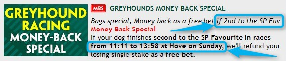 Greyhound Betting Strategy Paddy Power 2nd To SPr