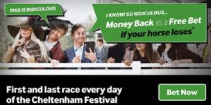 Horse Racing Refund Offers Betway Cheltenham Offer