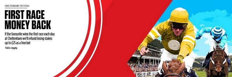 Horse Racing Refund Offers Ladbrokes Cheltenham Offer