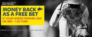 Horse Racing Refund Offers Sky 2nd & 3rd Money Back Offer