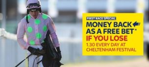Horse Racing Refund Offers Sky Cheltenham Offer