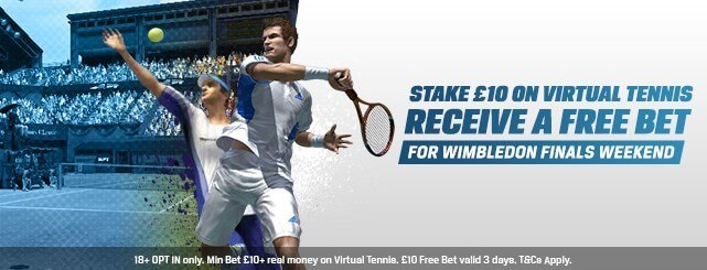 No Lay Matched Betting Coral Virtual Tennis Offer