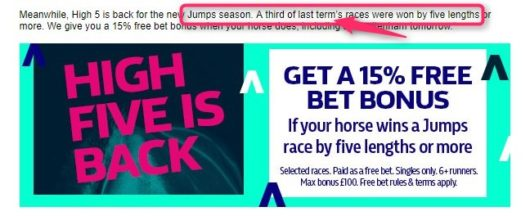 William Hill High 5 Offer