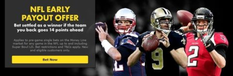 bet365 nfl early payout